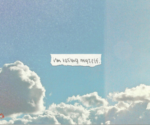 sky, quote, and myself image