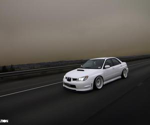 car, foggy, and drive image