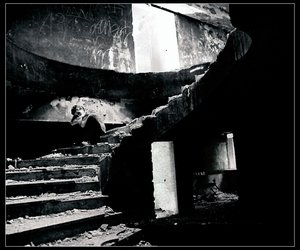 decay, stairs, and lonely image
