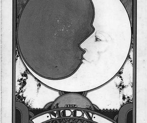 moon, card, and tarot image