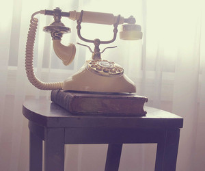 telephone and vintage image