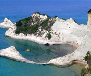 corfu greek island image