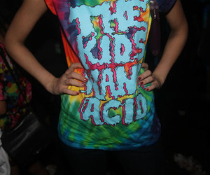 acid, tiedye, and arms image