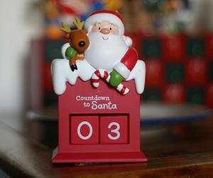 christmas, countdown, and santa image