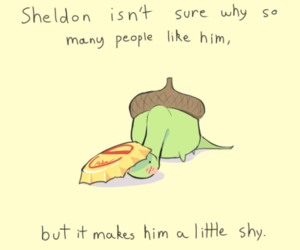 sheldon, cute, and shy image