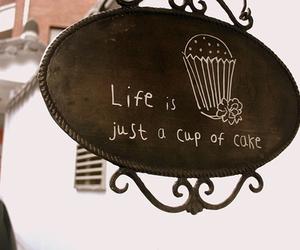 cupcake, life, and cake image