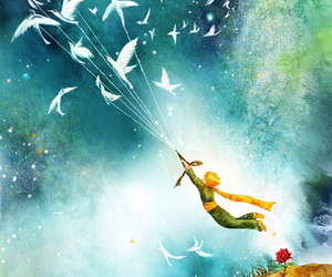 book, art, and little prince image