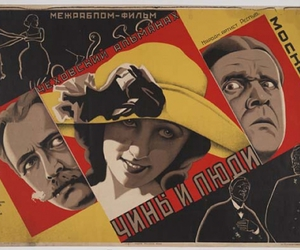 poster, russia, and illustration image