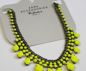 fashion, necklace, and Zara image