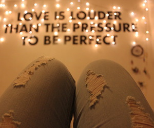 love, quote, and light image