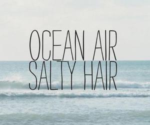 ocean, summer, and hair image