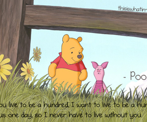 pooh, quote, and typography image