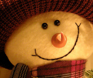 snowman, christmas, and cute image