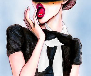 illustration, oh, and vogue image