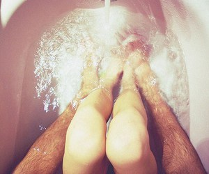 sex, bath, and naked image