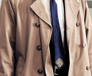 coat, supernatural, and misha image