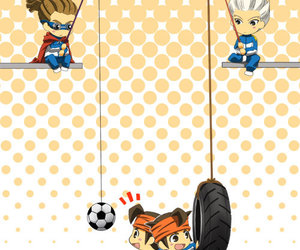 anime, inazuma eleven, and endou mamoru image