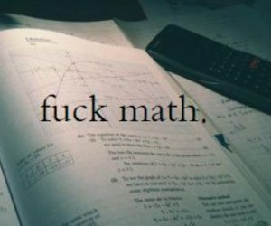 math and typography image
