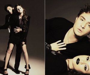 ed westwick and leighton meester image