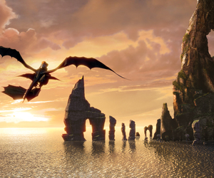 how to train your dragon, dragon, and toothless image