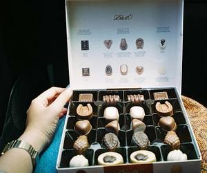 chocolate, food, and vintage image