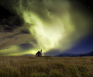 iceland, nature, and sky image