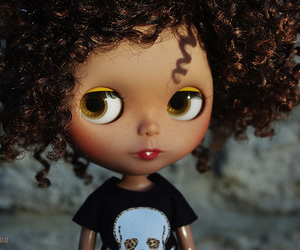 Afro, black, and blythe image