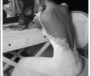 dress, girl, and marriage image