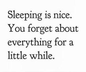 quote, sleeping, and forget image