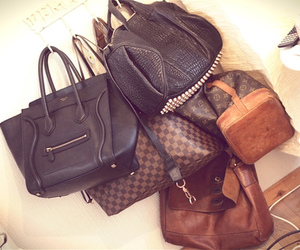 bag, celine, and Louis Vuitton image