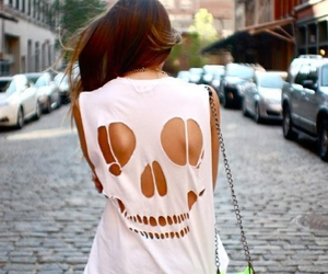 fashion, skull, and clothes image