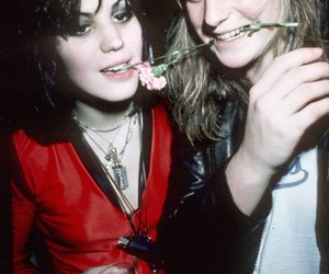 joan jett, the runaways, and sandy west image