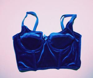 blue, velvet, and grunge image