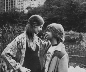 carrie fisher, mark hamill, and star wars image