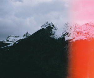 indie, mountains, and vintage image