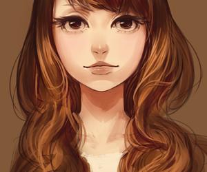illustration, beautiful, and draw image