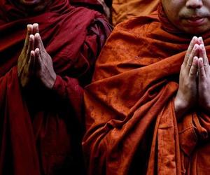 hands and tibetan image
