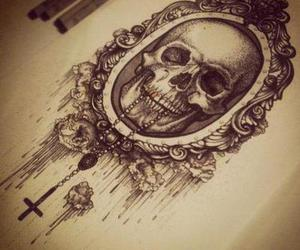 skull and draw image