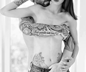 sexy, love, and tattoo image