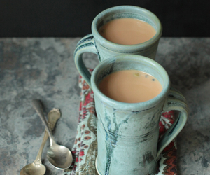 antique, chai, and mint green image