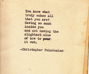 quotes, christopher poindexter, and poem image