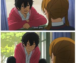anime, love, and tonari no kaibutsu-kun image