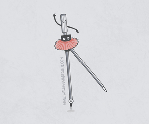 funny, cute, and ballet image
