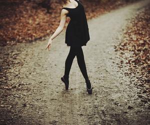 art, balett, and black and white image