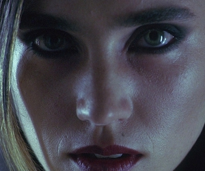 requiem for a dream, jennifer connelly, and eyes image