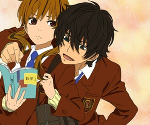 anime, my little monster, and haru image