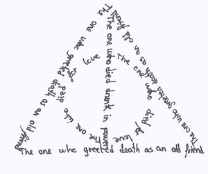deathly hallows, hallows, and harry image