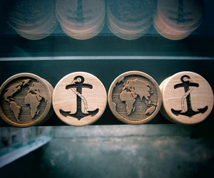 Plugs, anchor, and pretty image