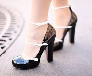 adorable, girly, and heels image