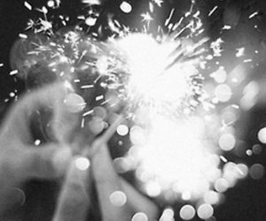 light, fireworks, and fire image